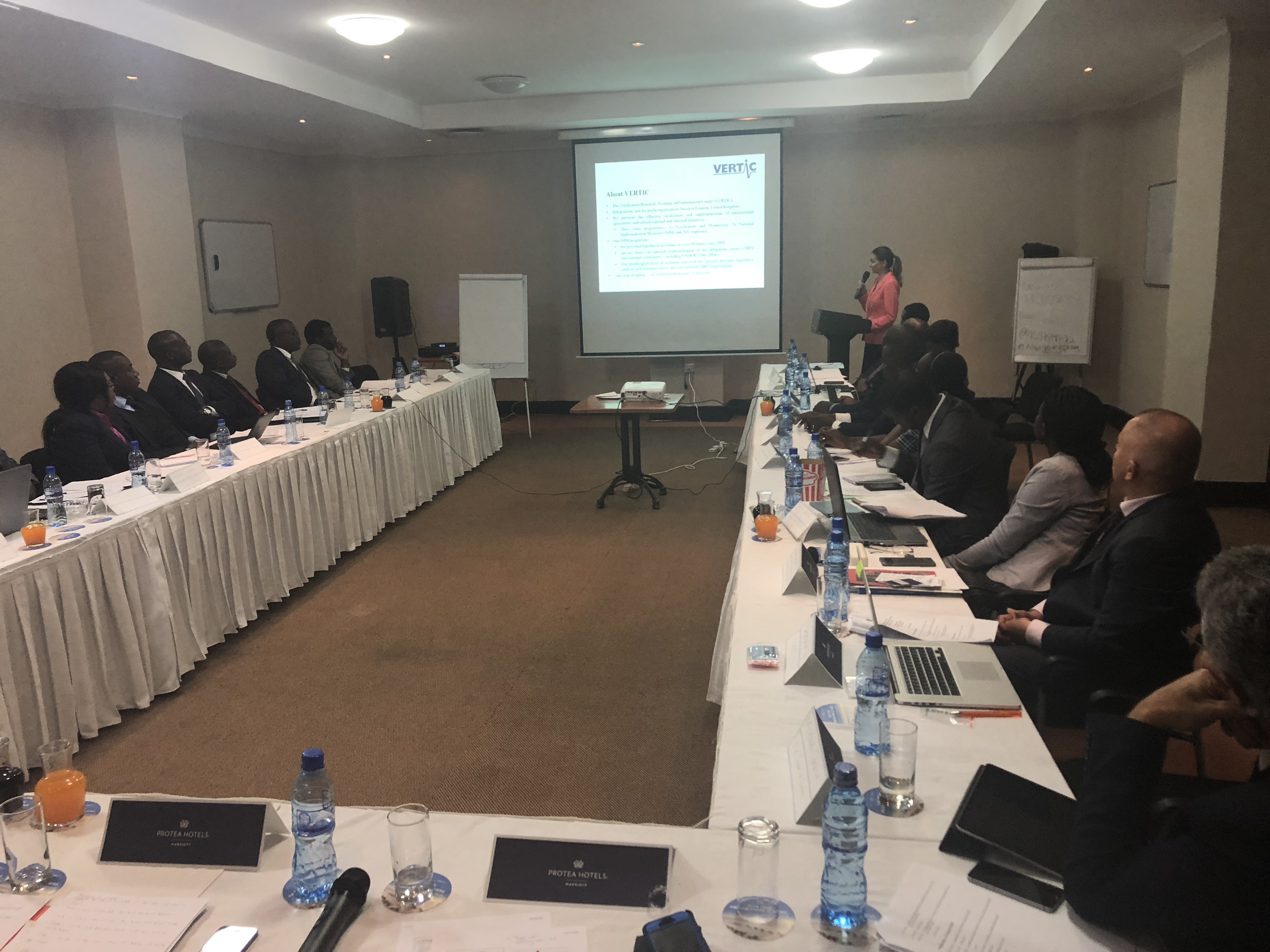 VERTIC participates in UNSCR 1540 and Strategic Trade workshop in
